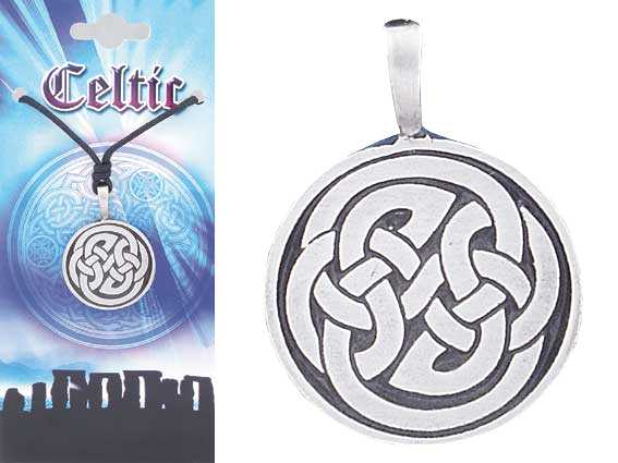 CELTIC Knot Pewter Pendant 3